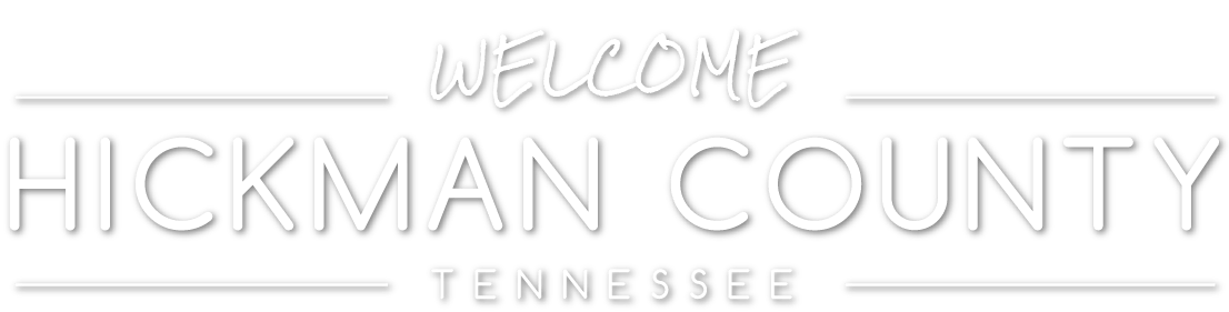 Welcome to Hickman County Tennessee Logo